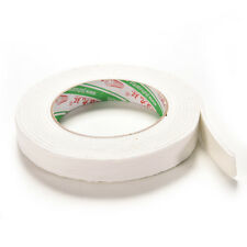 New Double Sided White Foam Sticky Tape Roll Adhesive Super Strong 1.8*300cm HF