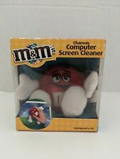 M&M's Chamois Computer Screen Cleaner Adorable M&M's Red Character New