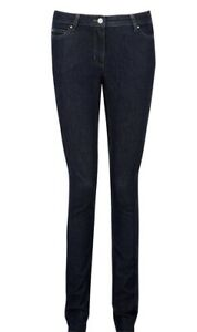 Pure Collection slim leg jeans indigo blue UK size 14 R RRP £90