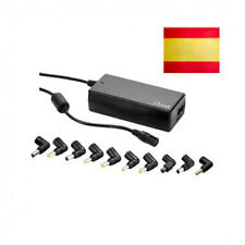 CARGADOR PORTATIL ORDENADOR UNIVERSAL 100W VOLTAJE AUTOMATIC 15 A 20V CONECTORES