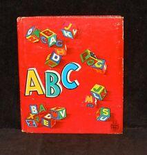 Tell-A-Tale #808 - ABC - fun Alphabet book - 1952 Whitman HC - 1st printing