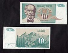 BANCONOTA YUGOSLAVIA 10  DINARA 1994  FDS BANKNOTE YUGOSLAVIA  UNC BELLA NICE
