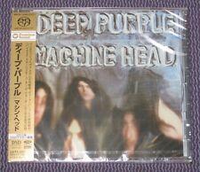 "DEEP PURPLE ""MACHINE HEAD"" JAPAN HYBRID SACD DSD MULTI-CH 2011 *SEALED*"