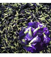 Thai Dried Butterfly Pea Tea PURE Flower Natural Organic Herbal Drink -100g
