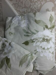Dorma Chinoiserie green floral double duvet cover set