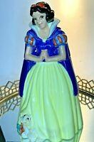 Snow White Cookie Jar Treasure Craft Canister Vintage Disney  #G21