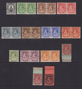Turks & Caicos. 1922-26. SG 162-175, 1/4d to 3/-. Fine mounted mint.