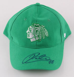 Patrick Kane Signed Blachawks Snapback St. Patricks Day Edition Hat (JSA COA)