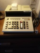 Vintage Sharp Printer Calculator adding machine Cs-2610
