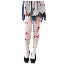 Tight High Stockings Halloween Zombie Bloody Nurse Blood Stained ON SALE