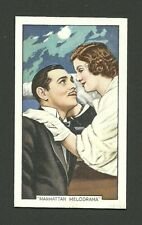 Clark Gable Myrna Loy - Tobacco Cigarette Movie Film Star Card