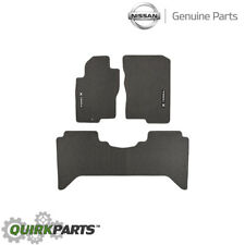 2005-2008 Nissan Xterra | Charcoal Black Carpeted Floor Mats Set Of 3 OEM NEW