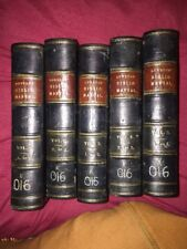 The Bibliographer's Manual Of English Literature,1864, 5 Vols, Lowndes full set
