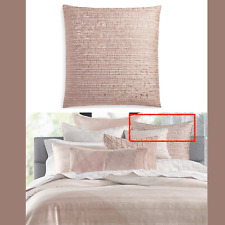 """NEW $185 Hotel Collection Woodrose 26"""" x 26"""" European Sham in Rose Pink #87"""