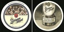 """Bierdeckel """"Gesundheitsministerin"""" Eder & Heyland`s Brauerei Großostheim Bayern"""