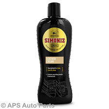 Simoniz Leather Treatment Protection Clean Treat Shine Upholstery Auto Car Care
