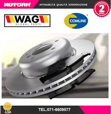 KIT21 Kit pastiglie freno+ 2 disco freno ant.Citroen-Peugeot (MARCA-COMLINE+WAG)