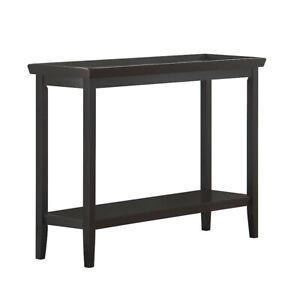 Convenience Concepts Ledgewood Console Table, Black - 501099BL