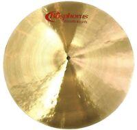"Bosphorus Groove Smash Crash 16"" Becken  Cymbal  Handgehämmert"