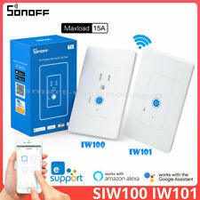 Sonoff IW100 IW101 Smart Wall Switch Power Monitoring Over Load Protect Timer