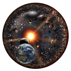 1000 Pieces Universe Space Planets Puzzle Jigsaw Round Puzzles Kids Adult Jigsaw