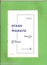 #D124. New Zealand Rugby Union, Otago V Waikato 21st August 1961