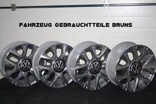 Original VW Alufelgen Canyon 16 Zoll VW UP CROSS 6Jx16 ET39 1S0601025C KOMPLETT