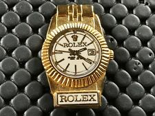 PINS PIN BADGE MONTRE WATCH ROLEX CARTOUCHE BLANCHE DOS LISSE