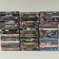 Lot of 82 Used DVD Movies w/ Cases Mixed Genres See Photos Wholesale