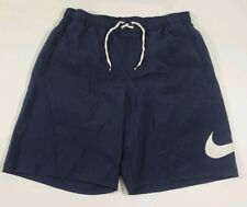 Nike Swim Trunks Size XL Dark Blue