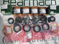 Land Rover Defender 90, 110, Wheel Bearing Kits FRONT to 93 OEM TIMKEN, BK0101A