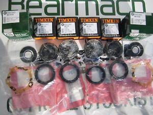 Land Rover Defender 90, 110 Wheel Bearing Kits FRONT 1986-93 OEM TIMKEN BK0101A