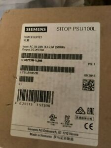 SIEMENS SITOP PSU100L 6EP1334-1LB00 24VDC 10Amp Power Supply New