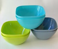 ODEA 36 Piece Salad/Snack/Pasta/Cereal Bowl Set .5 L Durable Reusable & BPA Free