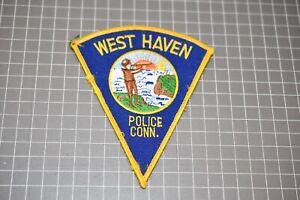 West Haven Connecticut Police Patch (US-Pol)