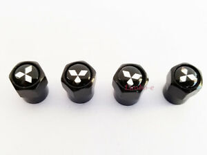 4x Car Auto Wheel Tyre Air Valve Stems Cap Dust Cover Accessories For Mitsubishi