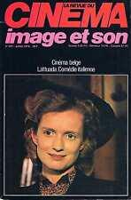 La Revue Du Cinema - N°341 - juil 1979:Cinéma belge Lattuada Comédie italienne