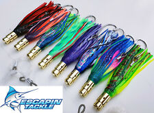 Trolling Lures. 8 x KINGFISH Jets. Awesome Kingie / Tuna Lures. Skirted Lures