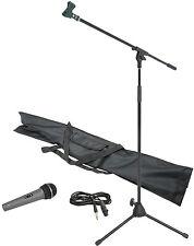 Corde professionnel complet Dynamique Microphone et pied de MICRO KIT Kit cadeau