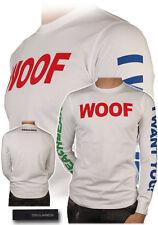 Dsquared² Runway WOOF T-shirt Sweatshirt XS SS/12 S74GC0706 Made in Italy, RARE