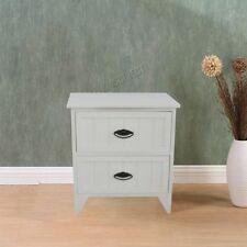 Tables de chevet et rangements blancs modernes pour la maison