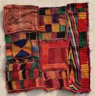 """15"""" x 13"""" Vintage Rabari Throw Embroidery Ethnic Tapestry Tribal Wall Hanging"""