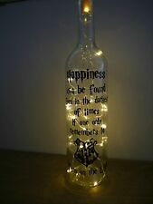 Harry Potter inspired gift LED Light Up Bottle Lamp Birthday Present Christmas