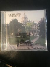 A Notre Dame Experience by The O'Neill Brothers  AUDIO CD 17 Tracks NEW SEALED