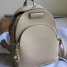 marc jacobs tan mini backpack tan gold strap