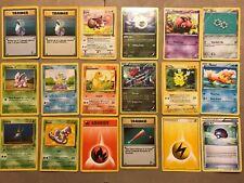 Dings/Dents POKEMON Cards Lot Fossil Jungle Pikachu Base Set Rare Holo Druddigon