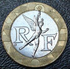 1991 FRANCE - 10 FRANC - BI-METALLIC - Pre Euro - Nice