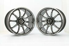 """2 x Rota T2R Drift 18"""" Alloy 350Z Skyline 200sx RX7 Supra Evo V-IX S14 5x114.3"""