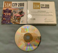 SimCity 2000 Special Edition - PC Computer CD Maxis Video Game COMPLETE in Case!