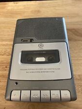 Ge Personal Portable Recorder And Cassette Player 3-5030A Tested & Works